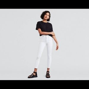Levi's Mile High Rose White